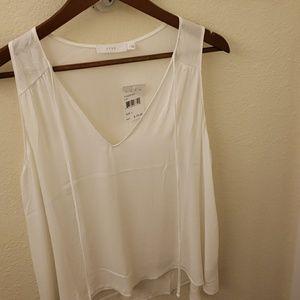 Womans LUSH ivory shirt